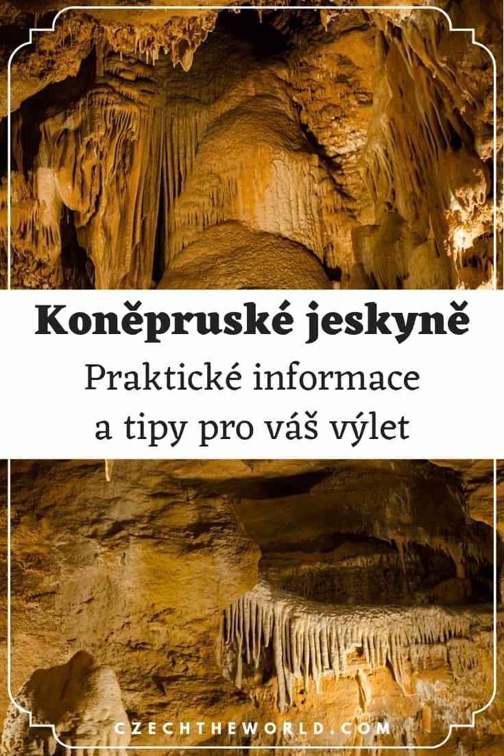 Koněpruské jeskyně - praktické informace