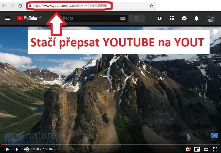 Stahování z Youtube