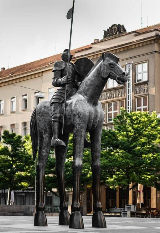 Sculpture of Jobst of Moravia. Things to Do in Brno