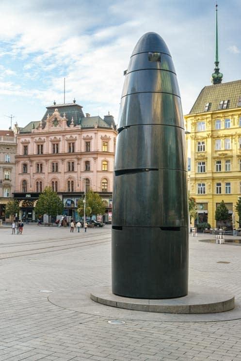 Astronomical Clock at Náměstí Svobody. Things to Do in Brno