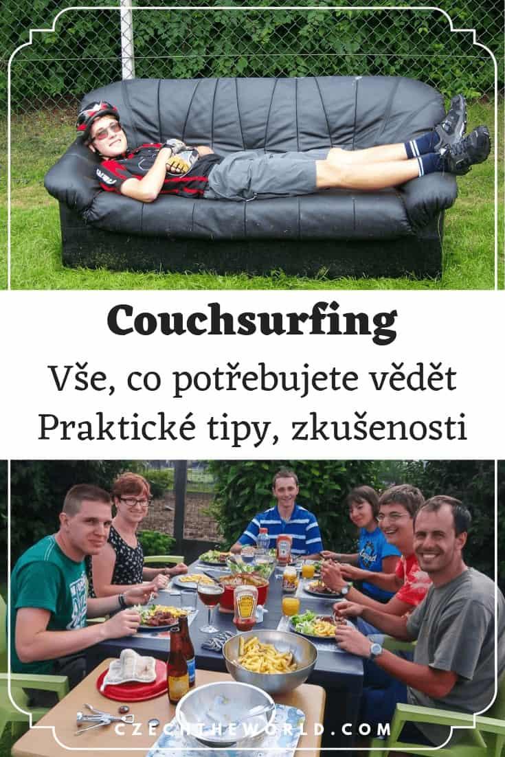 Couchsurfing - praktické tipy, osobní zkušenosti
