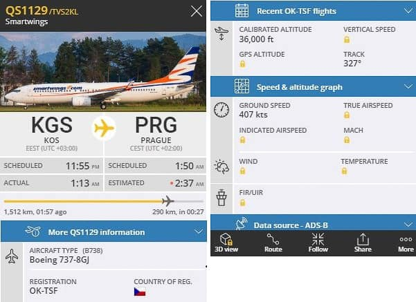 Flightradar24 com sledování letů online (4)