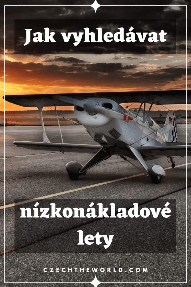 Jak vyhledávat nízkonákladové lety