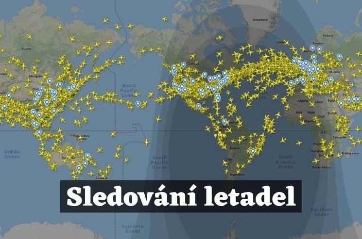 Sledování letadel podle čísla letu