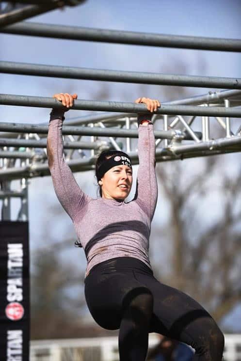 Trenérka Petra Adámková z Les Milles na historicky prvním Spartan Race na Novém Zélandu.