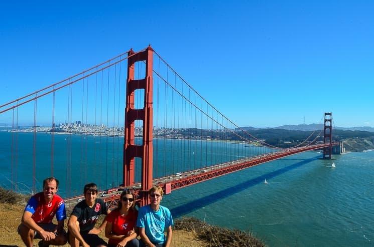 Na Work and Travel se můžete podívat i dost slavných měst jako San Francisco. USA