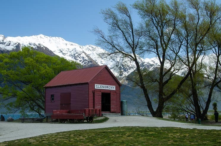 Beautiful Glenorchy Wharf