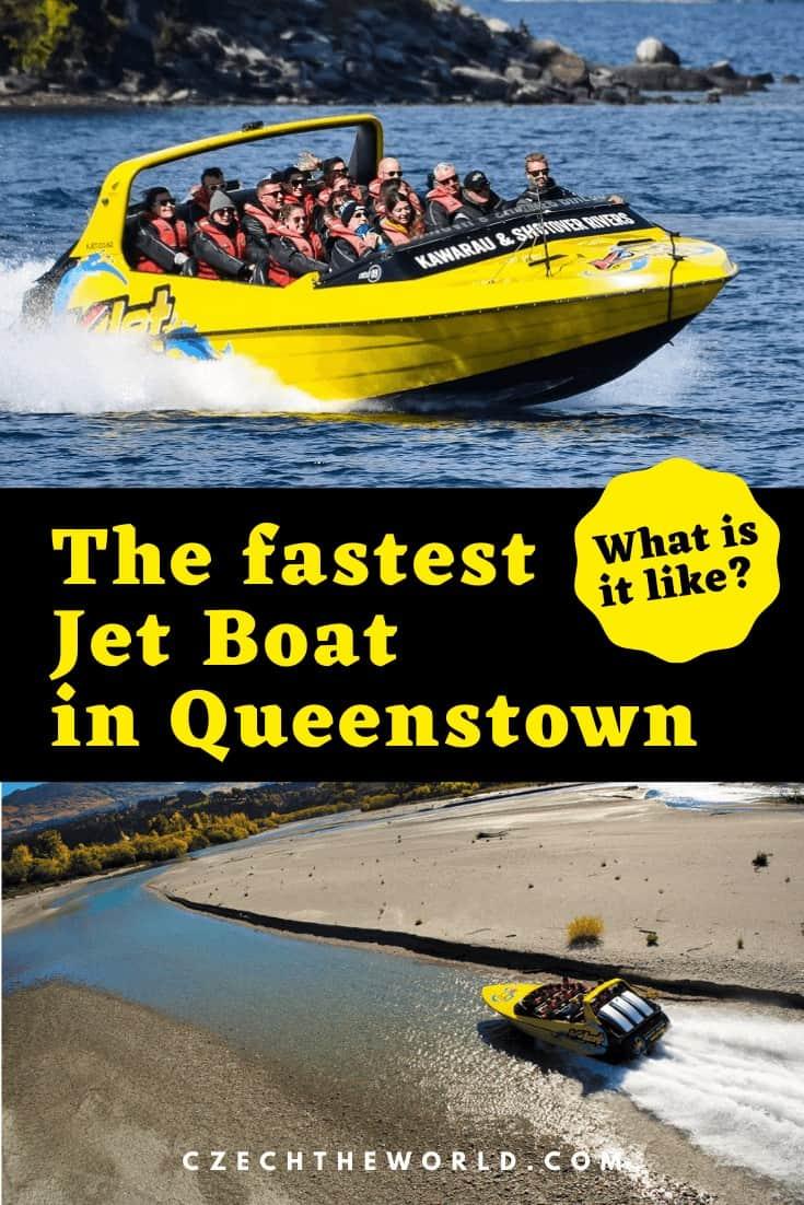 Jet Boat in Queenstown