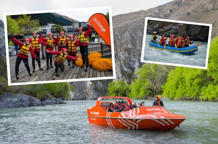 Jet to Raft Experience