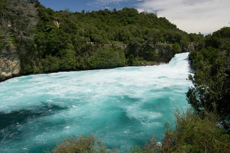 Huka Falls, North Island of New Zealand