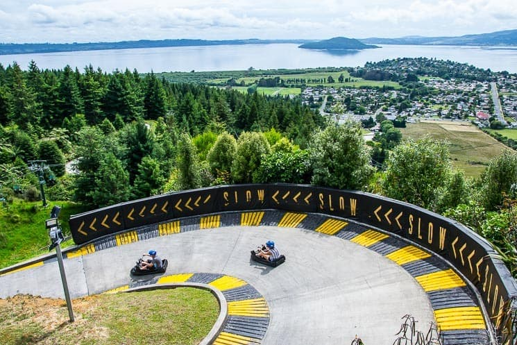 Things To Do In Rotorua - Skyline luge