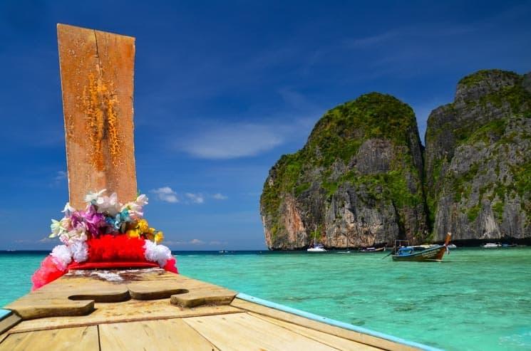 Ostrovy Koh Phi Phi Thajsko, Maya Bay