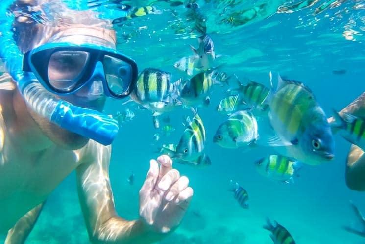 Potápění na ostrovech Ko Pi Pi
