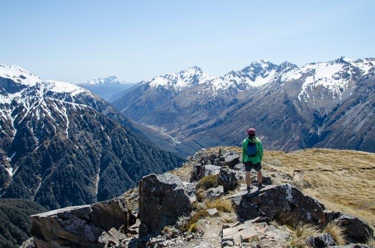 Výhled z Avalanche Peaku