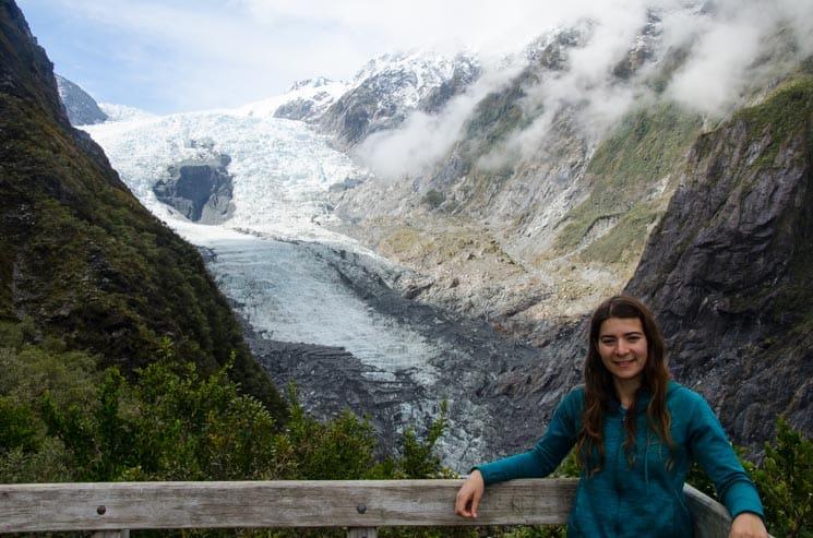 Ledovec Franz Josef - Nový Zéland