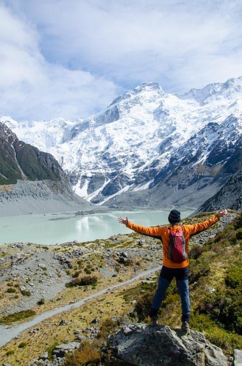Hooker Valley Track - Nový Zéland