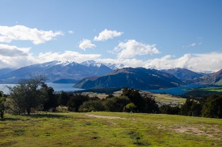 Výhled z Mount Iron