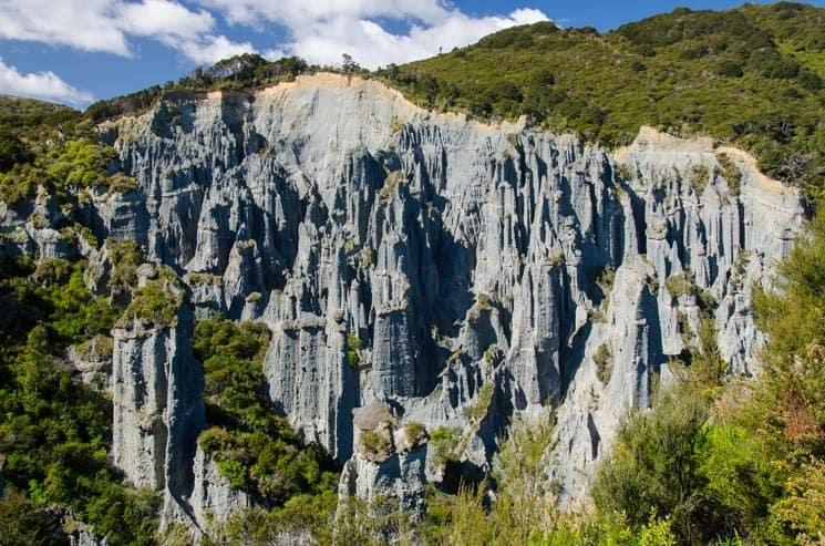 Nový Zéland - Putangirua Pinnacles