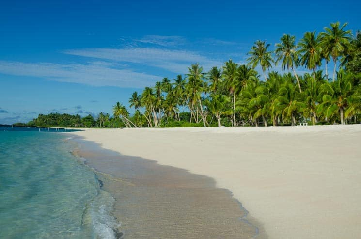 Nádherná pláž Falealupo, Samoa