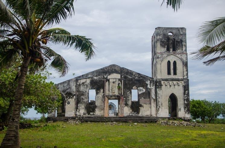 Zřícenina kostela Falealupo, Samoa