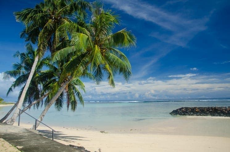 Oblast Manase - ostrov Savai'i