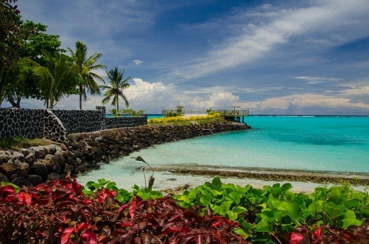 Pobřeží ostrova Savai'i, Samoa