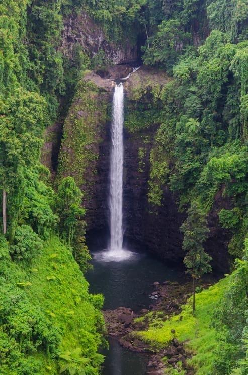 Sopo'aga falls viewpoint, Upolu, Samoa