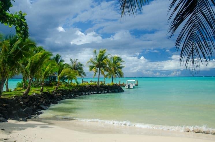 Pláže ostrova Upolu, Samoa