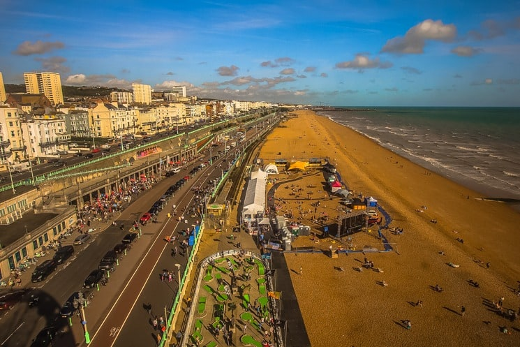 Best Things to Do in Brighton - brighton-beach-overview