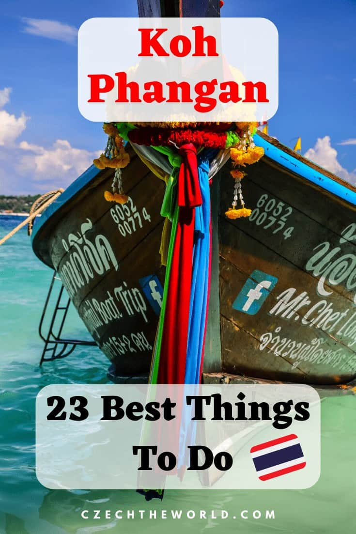 Best Things to do in Koh Phangan Pin