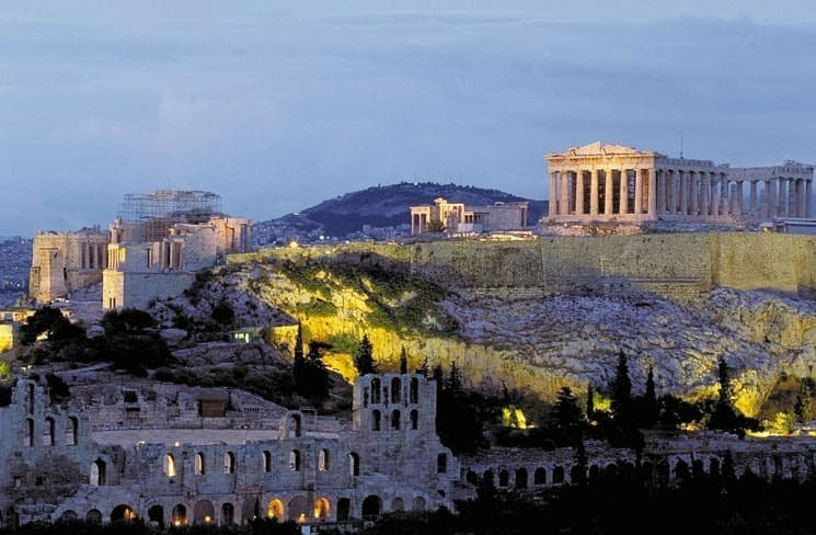 The Acropolis in Athens, Greece - landmarks