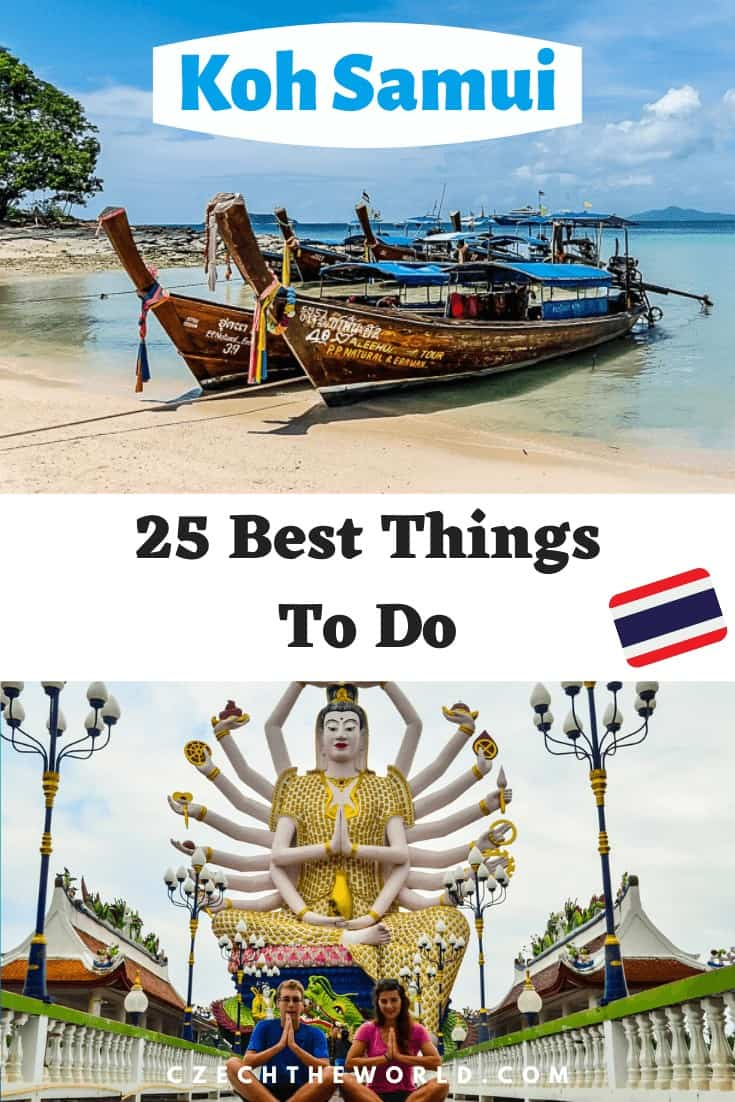 25 Best Things to do in Koh Samui, Thailand, Pin