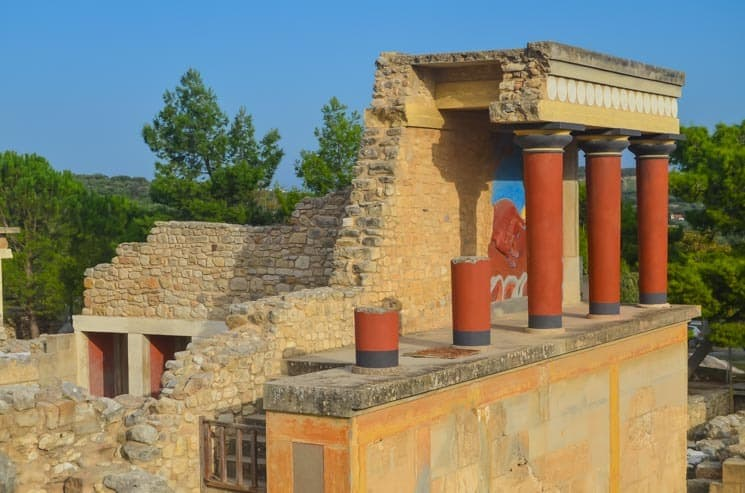 Landmarks in Greece - Knossos