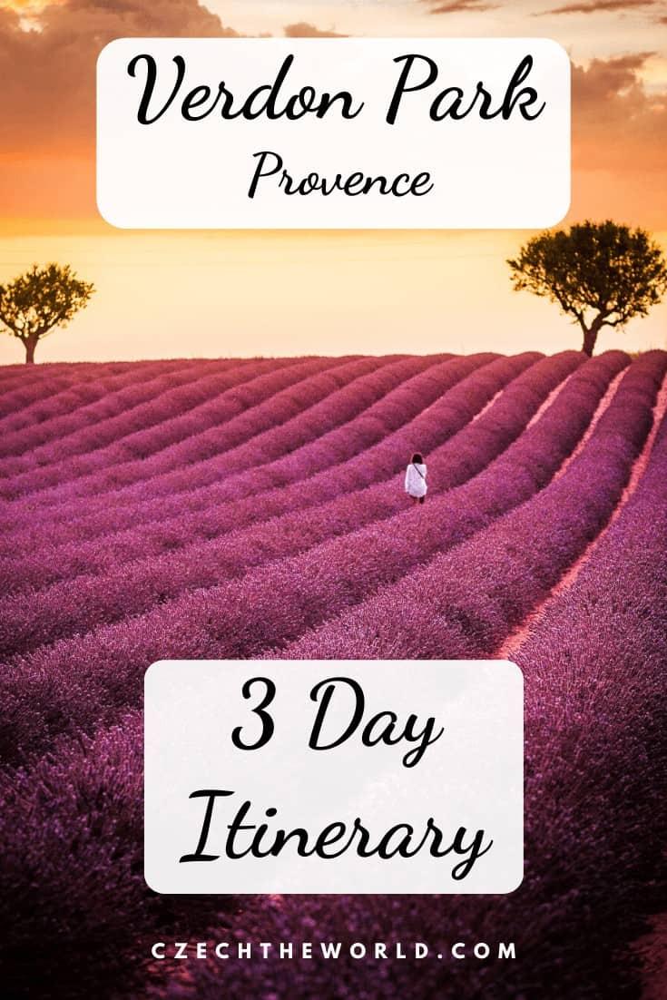 Verdon Park, Provence - 3 Day Itinerary (1)