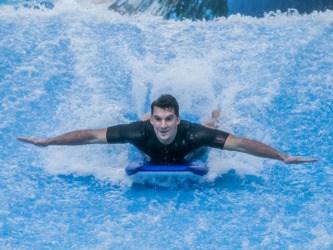 Surfovací aréna -Dárek pro kamaráda k narozeninám