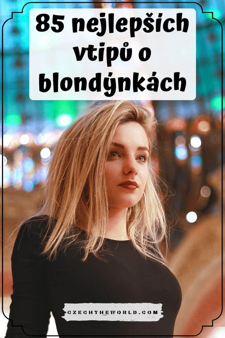 85 nejlepších vtipů o blondýnkách