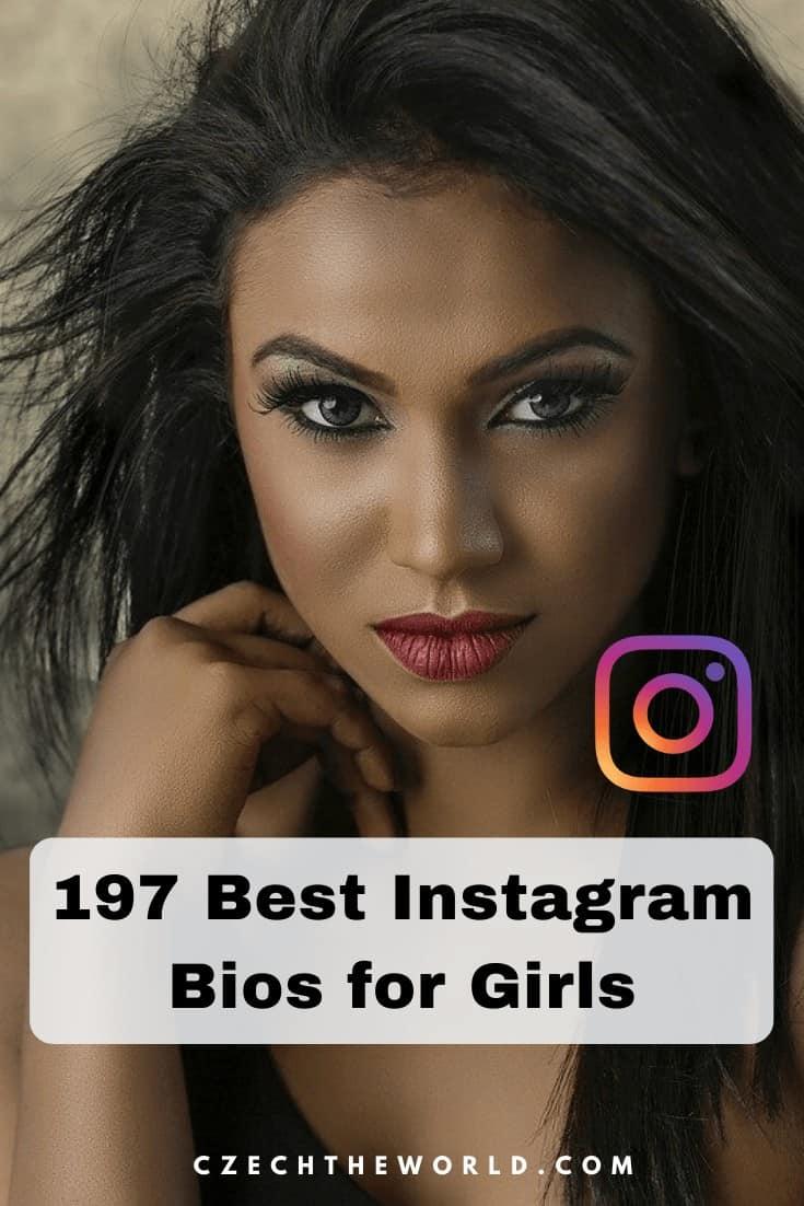 197 Best Instagram Bio For Girls You Should Use 2020