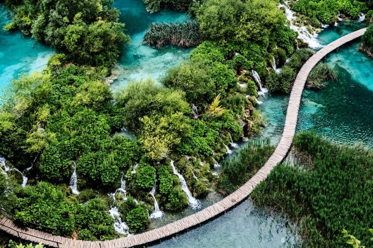 Best Places to visit in Croatia - plitvice