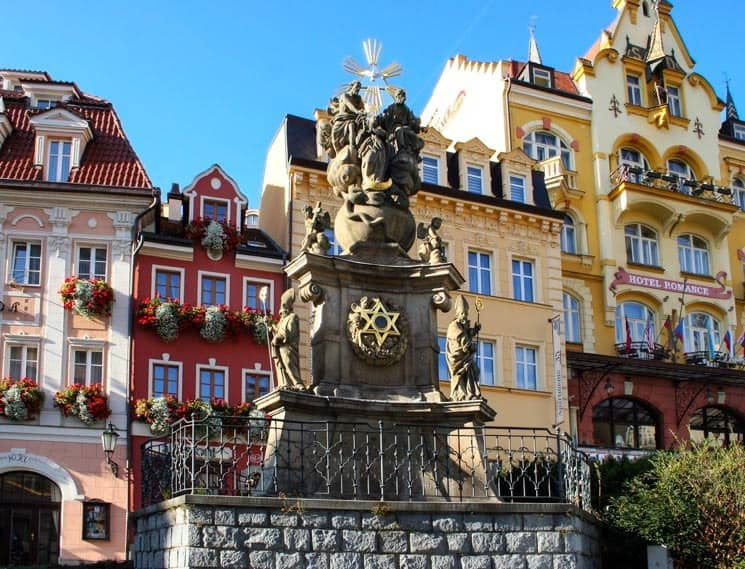 Karlovy Vary are popular among Czech cities as a TOP Spa Destination
