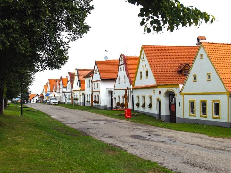 Traditional Czech village - Holašovice