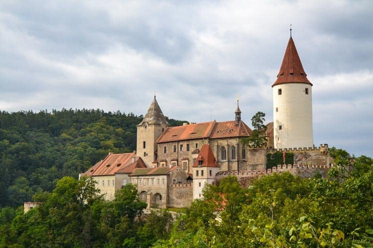 Křivoklát Castle - popular destination for locals