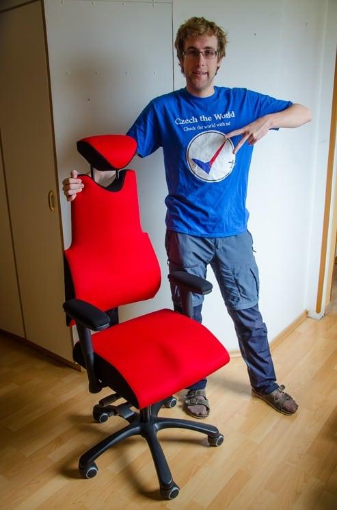kancelářské židle Therapia