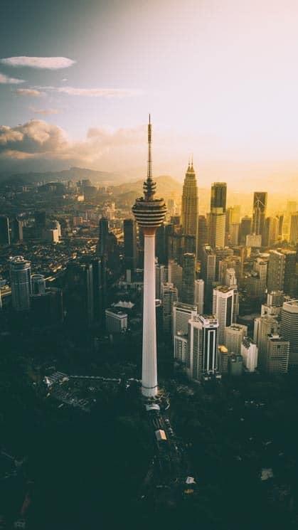 Televizní věž - Kuala Lumpur