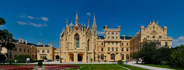 Lednice-Castle-Czech-Republic