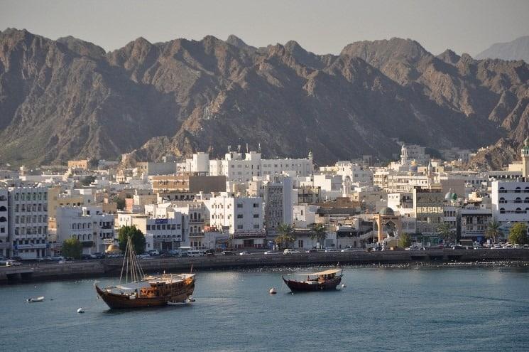 Hlavní město Ománu - Muscat