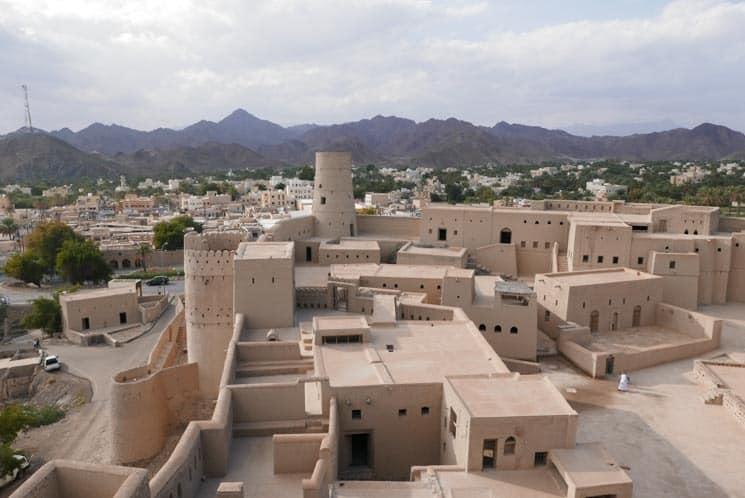 Jeden z Ománských hradů - Bahla Fort