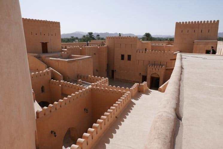 Hrad Nizwa, Omán