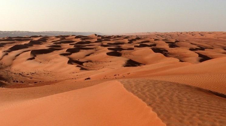 Ománská poušť