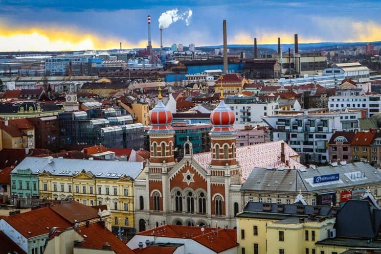 Pilsen City famous for its beer - Best places to visit in the Czech Republic