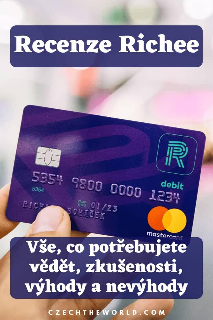 Richee účet - recenze, zkušenosti, karta (1)